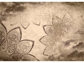 Fotobehang Papier Klassiek | Sepia | 254x184cm
