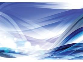 Fotobehang Vlies | Design | Wit, Blauw | 368x254cm (bxh)
