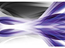 Fotobehang Vlies   Design   Grijs, Paars   368x254cm (bxh)