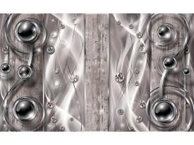 Fotobehang Vlies   Design, Modern   Zilver   368x254cm (bxh)