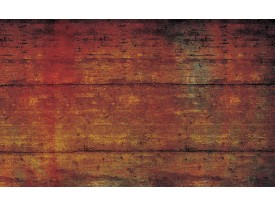 Fotobehang Industrieel | Oranje, Bruin | 152,5x104cm