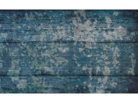 Fotobehang Industrieel | Blauw | 312x219cm