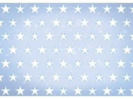 Fotobehang Vlies   Sterren   Blauw, Wit   368x254cm (bxh)