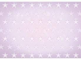 Fotobehang Vlies   Sterren   Roze, Paars   368x254cm (bxh)