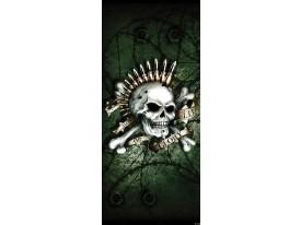 Deursticker Muursticker Alchemy, Gothic | Groen | 91x211cm