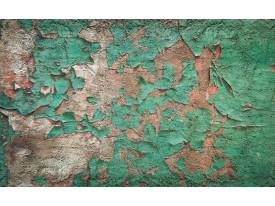 Fotobehang Industrieel, Muur | Groen | 208x146cm