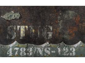 Fotobehang Muur, Industrieel | Bruin | 312x219cm