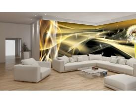 Fotobehang Vlies Design | Goud, Grijs | GROOT 624x219cm