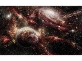 Fotobehang Vlies | Planeten | Rood, Bruin | 368x254cm (bxh)