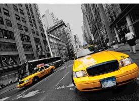 Fotobehang Vlies | New York | Geel | 368x254cm (bxh)
