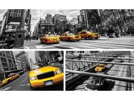 Fotobehang Vlies   New York   Geel, Grijs   368x254cm (bxh)