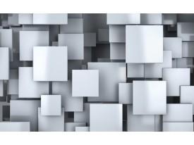 Fotobehang Vlies   3D, Design   Blauw   368x254cm (bxh)