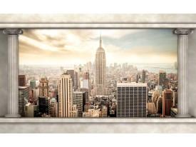 Fotobehang Skyline, Modern | Crème | 416x254