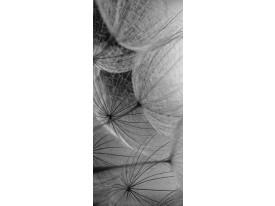 Deursticker Muursticker Natuur | Grijs | 91x211cm