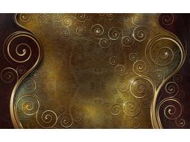 Fotobehang Klassiek | Bruin, Goud | 312x219cm