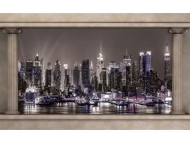 Fotobehang Papier Skyline | Grijs | 254x184cm