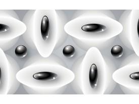 Fotobehang Modern | Zwart, Wit | 312x219cm