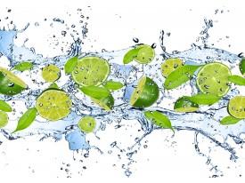 Fotobehang Keuken, Fruit   Groen   312x219cm