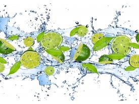 Fotobehang Vlies | Keuken, Fruit | Groen | 368x254cm (bxh)