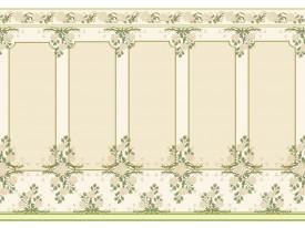 Fotobehang Papier Klassiek | Groen, Crème | 368x254cm