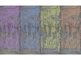 Fotobehang Vlies | Landelijk | Blauw, Paars | 368x254cm (bxh)