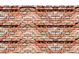 Fotobehang Papier Stenen, Muur   Bruin   368x254cm
