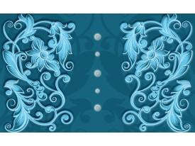Fotobehang Klassiek   Turquoise, Blauw   416x254