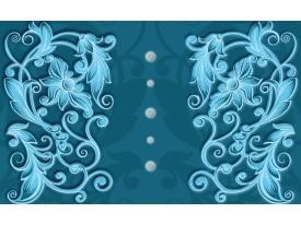 Fotobehang Vlies | Klassiek | Turquoise, Blauw | 368x254cm (bxh)
