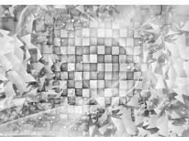 Fotobehang Papier Modern   Grijs, Zilver   368x254cm