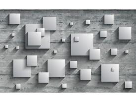 Fotobehang Vlies   3D, Modern   Grijs   368x254cm (bxh)
