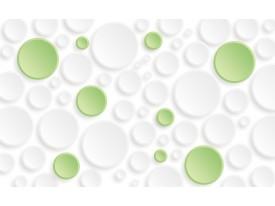 Fotobehang Modern   Groen,Wit   152,5x104cm