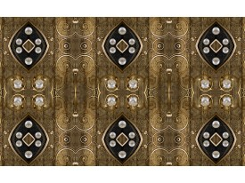 Fotobehang Vlies | Klassiek | Bruin, Zilver | 368x254cm (bxh)
