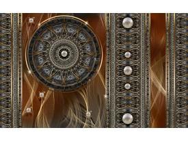 Fotobehang Vlies | Klassiek | Bruin, Grijs | 368x254cm (bxh)