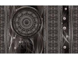 Fotobehang Vlies | Klassiek | Zilver, Grijs | 368x254cm (bxh)