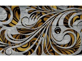 Fotobehang Vlies | Abstract | Grijs, Bruin | 368x254cm (bxh)