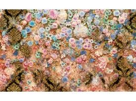 Fotobehang Vlies | Bloemen, Klassiek | Roze | 368x254cm (bxh)