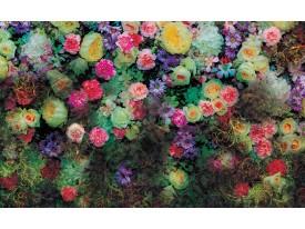 Fotobehang Vlies | Bloemen, Klassiek | Groen | 368x254cm (bxh)