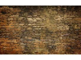 Fotobehang Vlies | Muur | Bruin | 368x254cm (bxh)