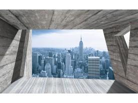Fotobehang Vlies | Skyline, Modern | Blauw | 368x254cm (bxh)