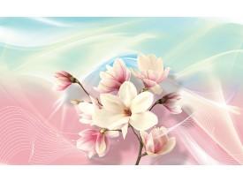 Fotobehang Vlies | Magnolia, Bloem | Roze | 368x254cm (bxh)