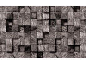 Fotobehang Vlies | Hout | Grijs | 368x254cm (bxh)