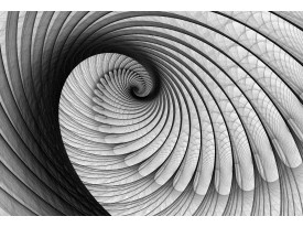 Fotobehang Vlies | Design, 3D | Grijs | 368x254cm (bxh)