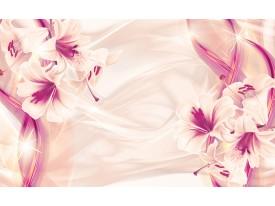 Fotobehang Vlies | Bloemen, Modern | Paars | 368x254cm (bxh)