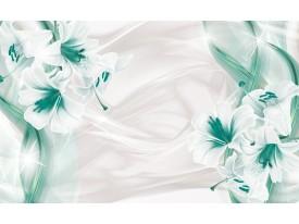 Fotobehang Vlies | Bloemen, Modern | Groen | 368x254cm (bxh)