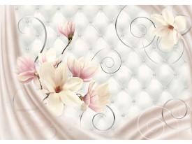 Fotobehang Papier Magnolia, Modern | Roze | 368x254cm