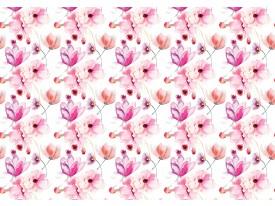 Fotobehang Bloemen, Klassiek | Roze | 208x146cm