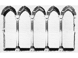 Fotobehang Vlies | Steden | Bruin, Oranje | 368x254cm (bxh)