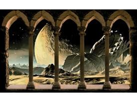 Fotobehang Papier Universum | Bruin, Grijs | 254x184cm