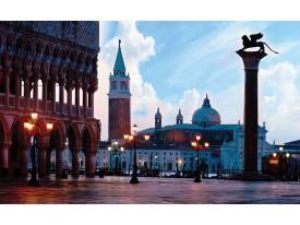 Fotobehang Venetië, Steden | Blauw | 416x254