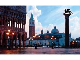 Fotobehang Vlies | Venetië, Steden | Blauw | 368x254cm (bxh)
